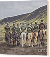 To Ride The Paths Of Legions Unknown Wood Print
