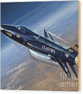 To The Edge Of Space - The X-15 Wood Print