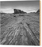 To The Rock Wood Print