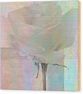 To The Rose Wood Print
