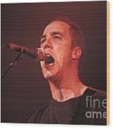 Toad The Wet Sprocket - Glen Phillips Wood Print
