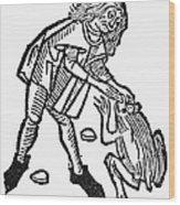 Toadstone, 1491 Wood Print