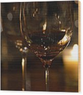 Toast For Wine Lovers 1 Wood Print