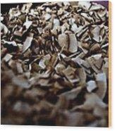 Toasty Coconut Wood Print by John Grace
