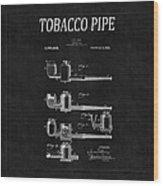 Tobacco Pipe Patent 4 Wood Print