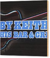 Toby Keith's Wood Print