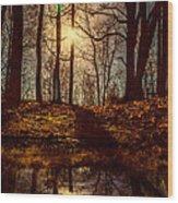 Today Wood Print by Bob Orsillo