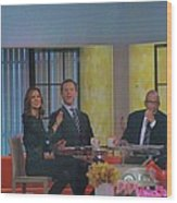 Today Show Cast Wood Print