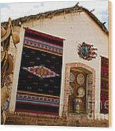 Todos Los Santos Market Wood Print