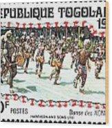 Togo Stamp Wood Print