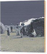 Tohono O'odham Dwelling Circa 1885-2013 Wood Print