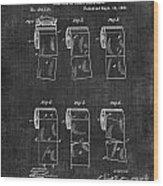 Toilet Paper Patent 040 Wood Print