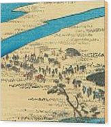 Tokaido - Shimada Wood Print