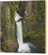 Tokettee Falls 1  Wood Print