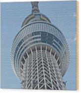 Tokyo Skytree Wood Print