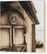 Toledo Mailbox Wood Print
