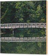 Tolmie Bridge Wood Print