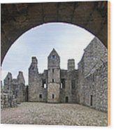 Tolquhon Castle 3 Wood Print