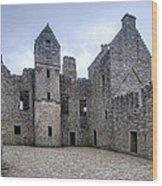 Tolquhon Castle 4 Wood Print