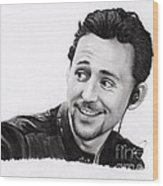 Tom Hiddleston 2 Wood Print