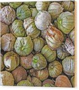 Tomatillos At The Local Market Wood Print