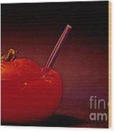 Tomato Juice Wood Print
