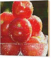 Tomatoes 2 Wood Print