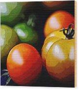 10044 Tomatoes Wood Print