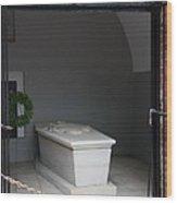 Tomb Georg Washington Wood Print