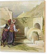 Tomb Of Joseph At Shechem 1839 Wood Print