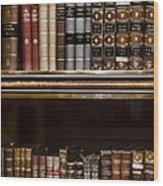 Tomes Wood Print
