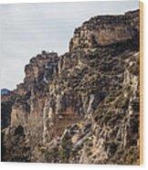 Tongue River Canyon Wood Print
