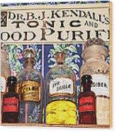 Tonic And Blood Purifier Wood Print
