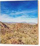 Tonto National Forest Apache Trail Wood Print
