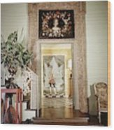 Tony Duquette's Entrance Hall Wood Print
