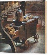 Tool Cart Wood Print