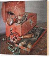 Toolbox 2 Wood Print