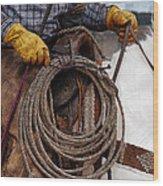Tools Of The Trade Wood Print by Kae Cheatham