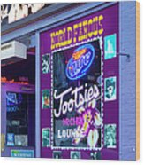 Tootsies Nashville Wood Print by Brian Jannsen