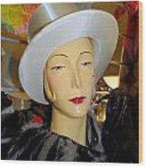 Top Hat Tallulah Wood Print