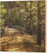 Top Of The Bridge Wood Print