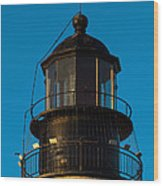 Top Of The Key West Lighthouse  Wood Print