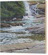 Top Of Triple Falls Wood Print