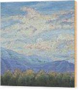 Topa Sky Wood Print