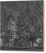Topeka Capital Wood Print