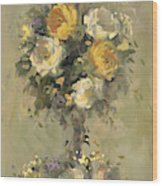 Topiary Bouquet 1 Wood Print