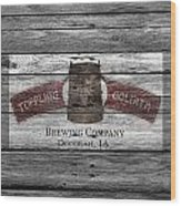 Toppling Goliath Wood Print