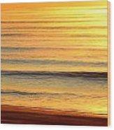 Topsail Golden Mist Wood Print