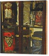 Torah Scrolls Wood Print