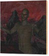 Torment Wood Print by Jean Gugliuzza